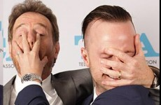 Bryan Cranston and Aaron Paul have the greatest Breaking Bad reunion