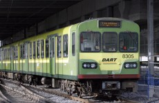 Dart and trains disrupted after Dart derails between Bray and Greystones