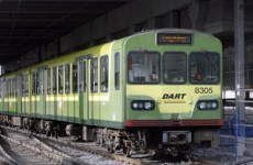 Bray Dart and train disruption caused by rocks being put on the tracks