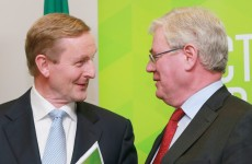 The Taoiseach thanked Eamon Gilmore for all his work during today's Cabinet meeting