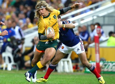 Cummins, 26, has played 15 Tests for the Wallabies.