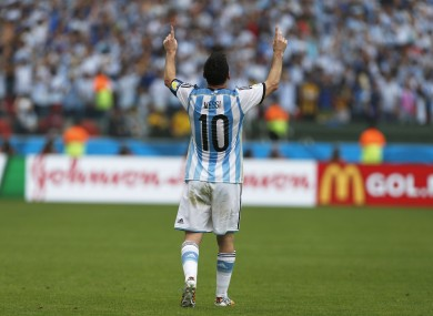Lionel Messi is expected to be a key player in tonight's game.