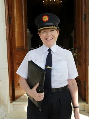 Acting Garda Commissioner Noirín O' Sullivan