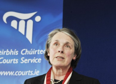 Supreme Court Chief Justice Susan Denham