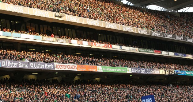 You'd need the Cusack Stand to hold all of Dublin's millionaires