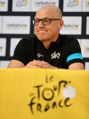 Dave Brailsford: will learn a lot from failure.