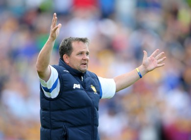 Davy Fitzgerald confronted Peter O'Connell about his writing according to the Clare journalist.