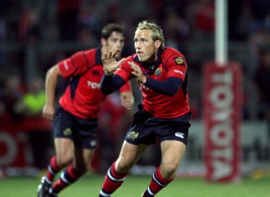 Hickey in Munster colours in 2006.
