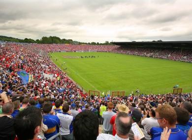 Páirc Uí Chaoimh hosts Cork and Limerick on Sunday.