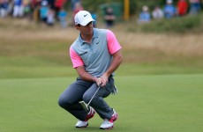 Rory McIlroy leads Sergio Garcia by two as Open goes to the wire