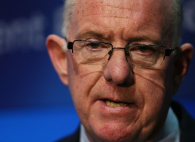 Foreign Affairs Minister Charlie Flanagan.