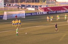Watch the goals which put Ireland's U19s into the European Championships semi-finals