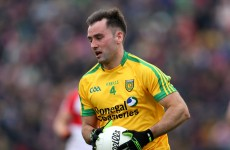 Lacey on the bench as Donegal make two changes for Ulster final