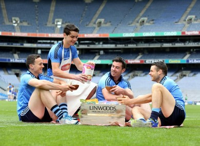Michael Darragh MacAuley was speaking at the announcement of Linwoods as the official health food supplier to Dublin GAA.