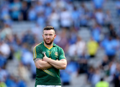 Meath's Mickey Burke was one of the players at the centre of the controversy.