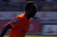 Red card sends player into bizarre screaming sprint for the tunnel