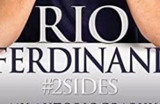 So, Rio Ferdinand's new book has a hashtag in the title