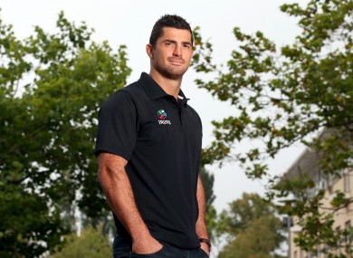 Rob Kearney took over from Jonny Sexton as IRUPA chairman.