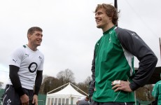 Here's Andrew Trimble singing an ode to Ronan O'Gara with a Mariachi band