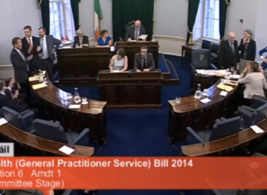 The government lost another vote in the Seanad this week