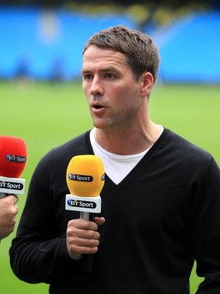 Since retiring from playing, Michael Owen has become a pundit for BT Sport.