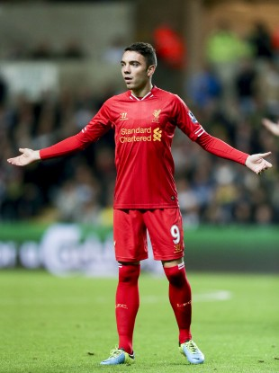 Aspas only moved to the Anfield club last summer.