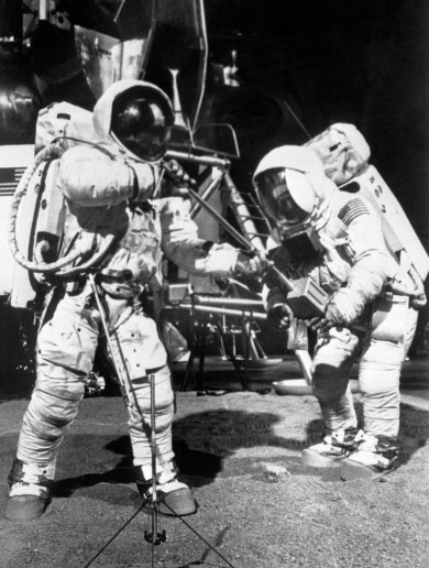 45 years ago, man walked on the moon – here's how it was reported