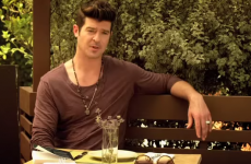 You can now cruelly laugh at all of Robin Thicke's debut acting scenes