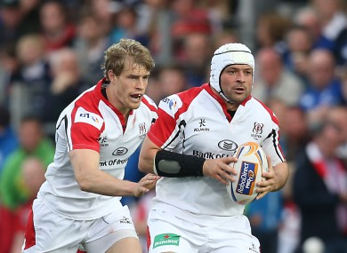 Rory Best [R] is among the players enthused by Kiss' appointment.