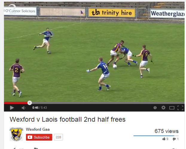 Wexford GAA screengrab