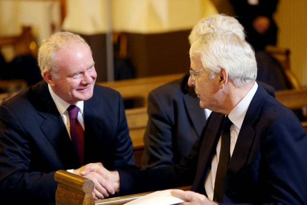 25-08-2014 Funeral mass for former Taoiseach Alber