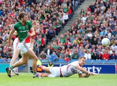 Aidan O'Shea scores his side's crucial goal.