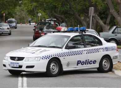File photo of Western Australian Police