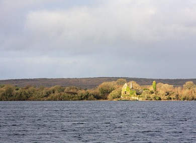 Lake Inchiquin in Co Clare, the source of the public water alert.