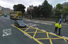 Garda injured after suspected stolen car crashes into Dublin Bus