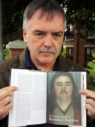 Kieran Megraw, brother of one of the Disappeared, Brendan Megraw.
