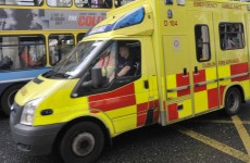 Dublin Fire Brigade investigating how a wheel fell off an ambulance while driving