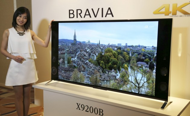 Japan Sony 4K TV