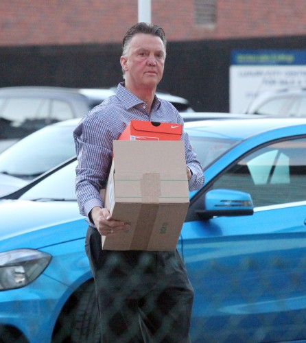 Louis van Gaal Sighting - Manchester