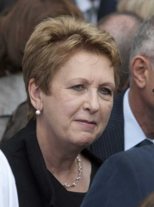 Former President Mary McAleese pictured last year