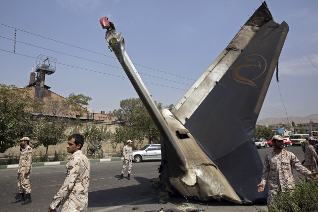 Mideast Iran Plane Crash