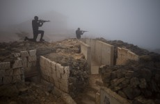 Peacekeepers clash with Syrian rebels at Golan Heights