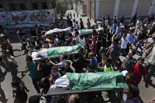 Mideast Palestinians Death in Gaza