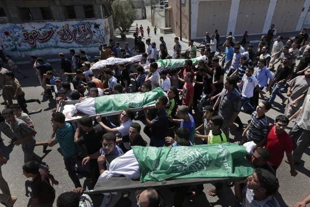 Mideast Palestinians Death in Gaza