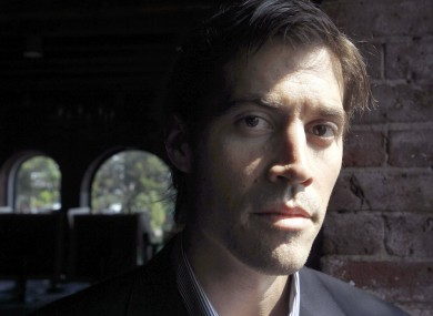 File photo dated 27 May 2011 of journalist James Foley.