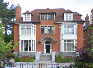 The exterior of the property on Shrewsbury Road
