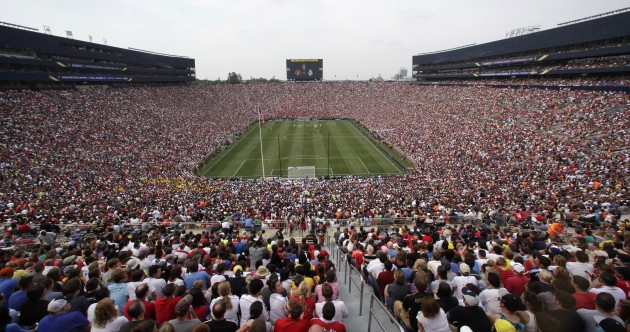 There were 109,318 people at Man United v Real Madrid yesterday