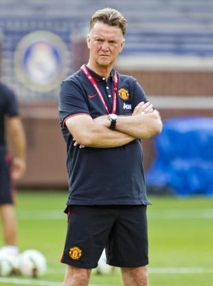 Van Gaal begins life in the Premier League next weekend.
