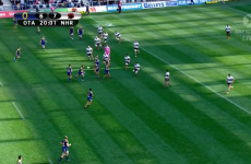 Otago come up with a beauty of a set-piece try in the ITM Cup
