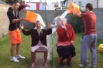 Two Dublin priests did the ice bucket challenge and nominated the Pope's representative